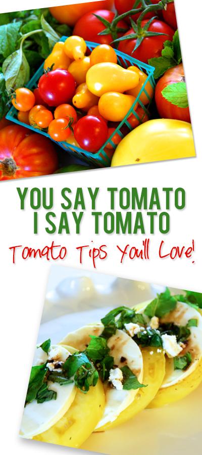 You Say Tomato–I Say TomAto