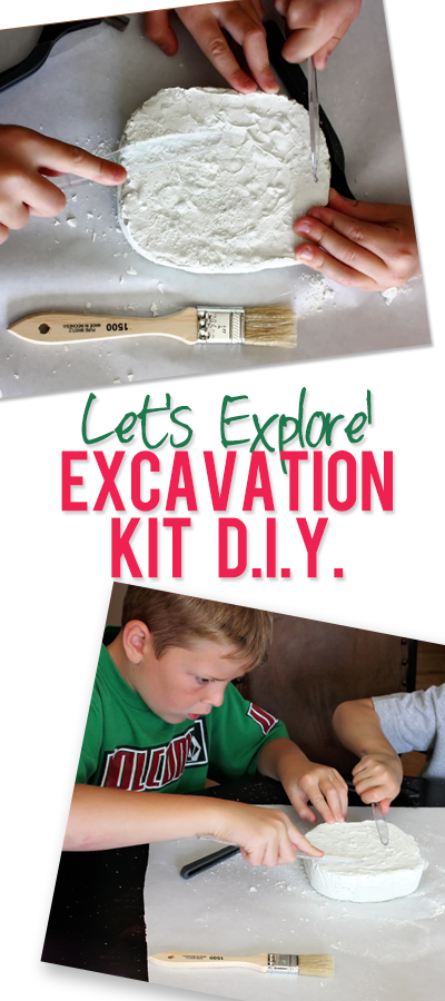 emily excavation kit diy pinterest