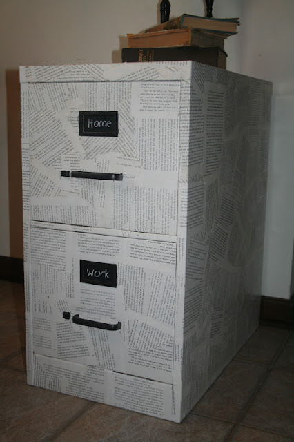 paper filing cabinet