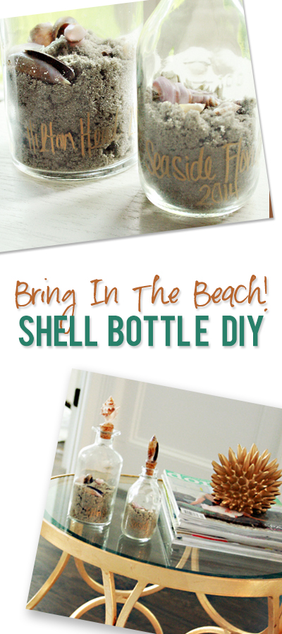 DIY: Shell Bottle