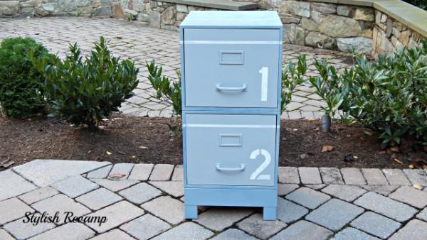 stencil filing cabinet