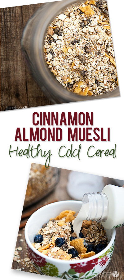 Cinnamon Almond Muesli pinterest