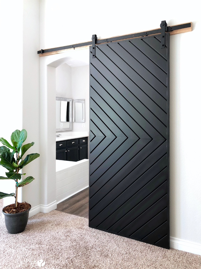 Build A Fixer Upper Style Modern Barn Door How Does She