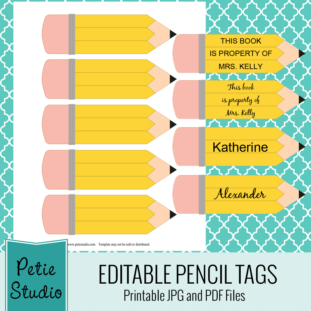 It is a graphic of Stupendous Pencil Template Printable