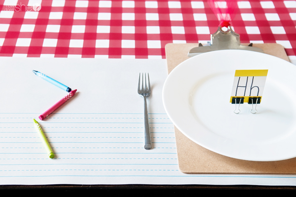 Back to School Dinner