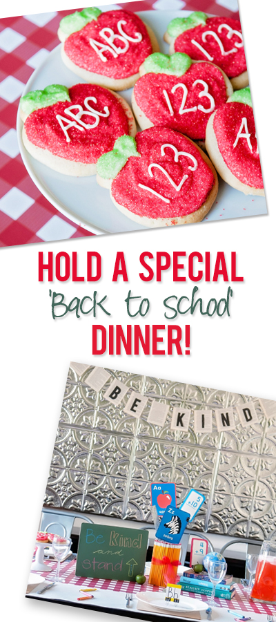 Special Back to School Dinner