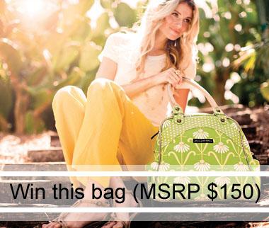Win a Petunia Pickle Bottom Bag.  (MSRP $150)