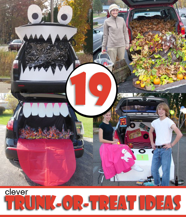 50s theme party free decorations printables - 19 Easy And Clever Trunk Or Treat Ideas Have The Best Trunk