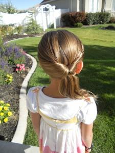 easy hairdos for girls