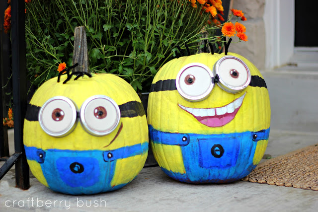 minion pumpkins - Pumpkin Decorating Ideas