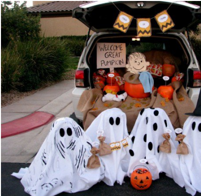 Trunk or treat ideas - 19 of them that are easy and cheap!