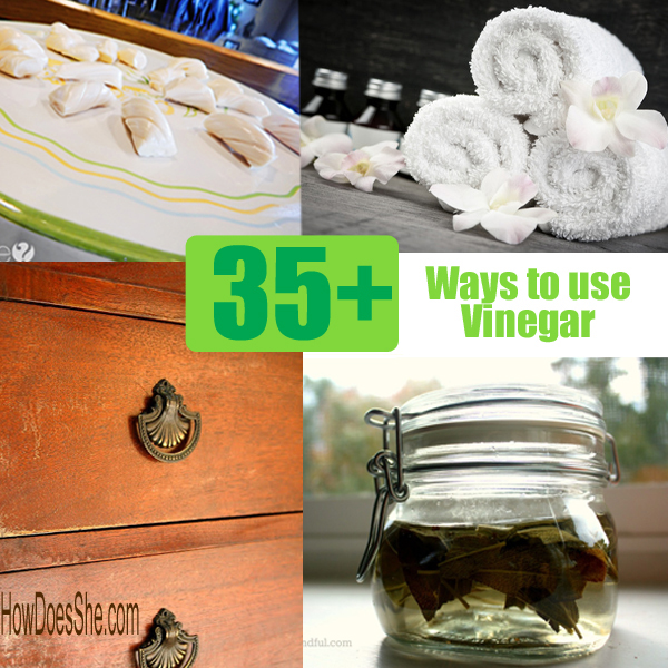 35+ Ways to use Vinegar You'll Love