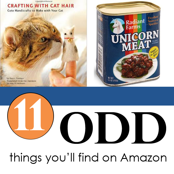 11 of the oddest things you'll find on Amazon – YES!  They are actually for sale!