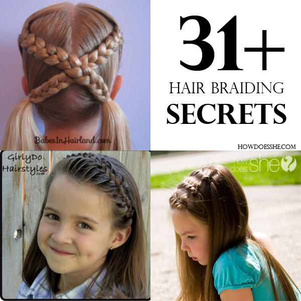 Brilliant How To Braid Hair In Cute Ways Braids Hairstyles For Women Draintrainus