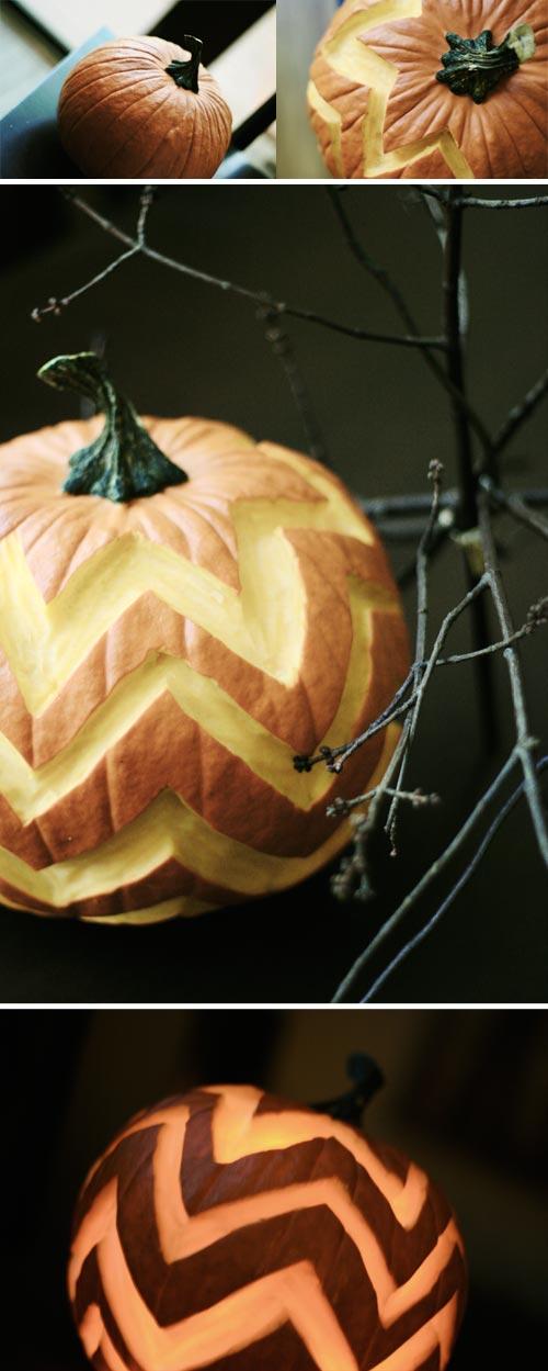 chevron_stripe_zigzag_pumpkin
