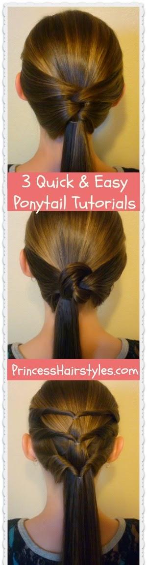 easy ponytail styles