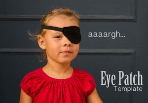 eye patch template