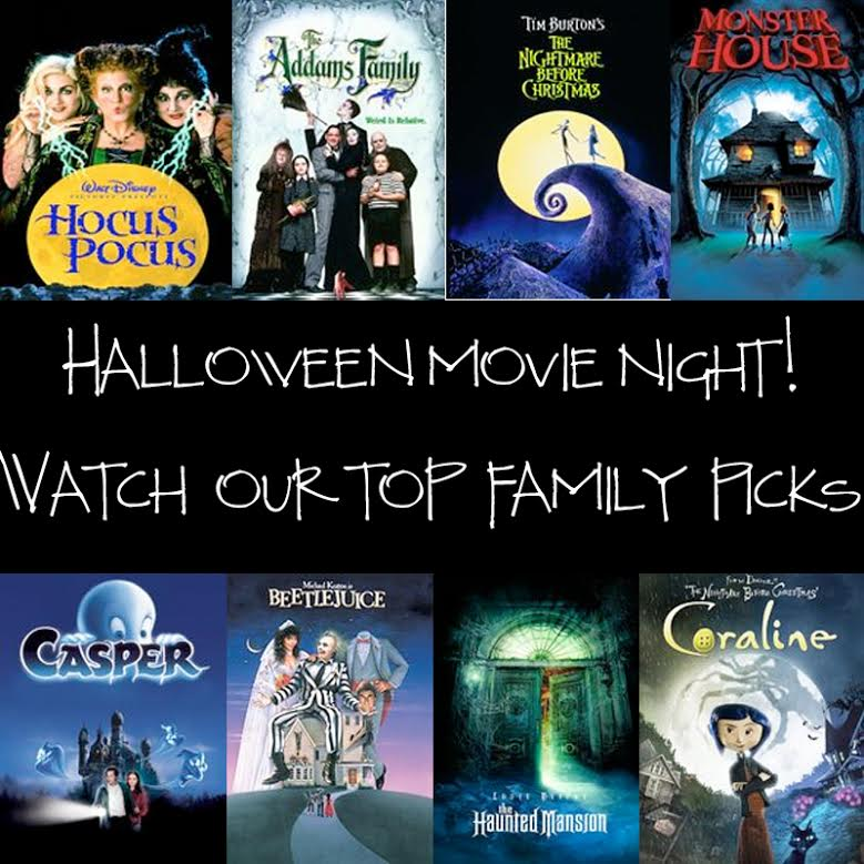 Get Your Spook On! - Top 13 Family Halloween Movies | How Does She