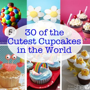 Cute cupcakes ideas