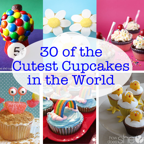 Cute Cupcakes from Around the World: 30 Cute Cupcakes Ideas
