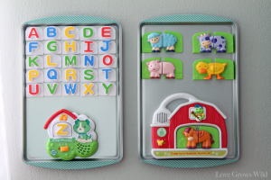 Baking Sheet Magnet Boards by Love Grows Wild 1