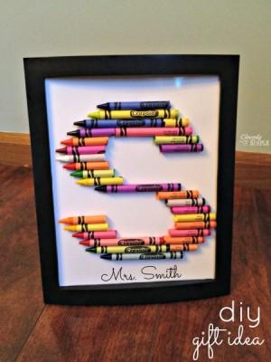 Crayon-Frame-DIY-Gift-Idea