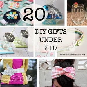 DIY Gifts under $10