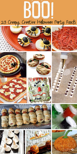 Creative Halloween Party Foods