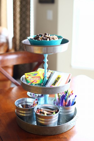 3-tier tray diy