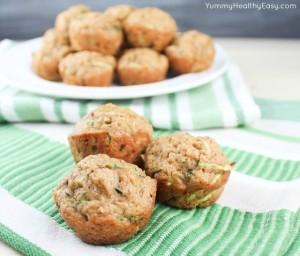 Mini Zucchini Muffins 3