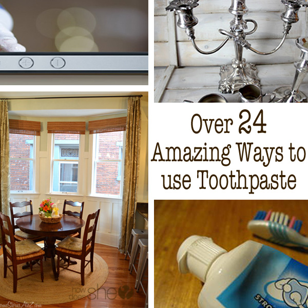 Over 24 Amazing Ways to Use Toothpaste