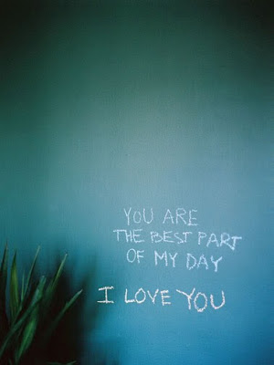 You are the best part of my day_by Leo Patrone_via Mary Ruffle