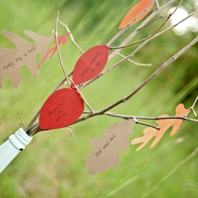 Create Your Own Fall To-Do Tree!