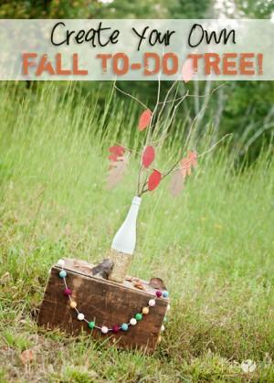 kerri fall to-do tree pinterest