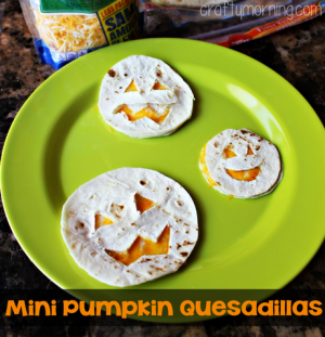 ... Pumpkin Quesadillas. Perfect for a halloween lunch or an any day lunch