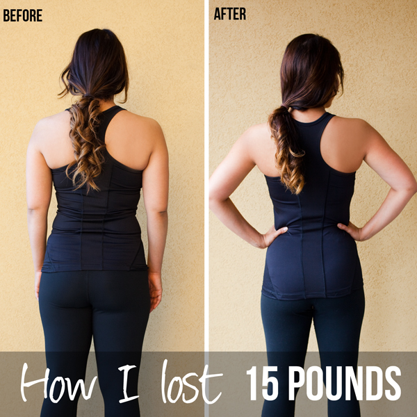 How I lost 15 pounds.