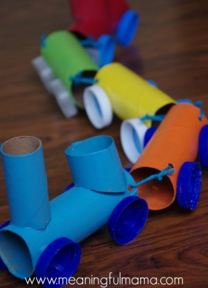 toilet-paper-roll-craft-train