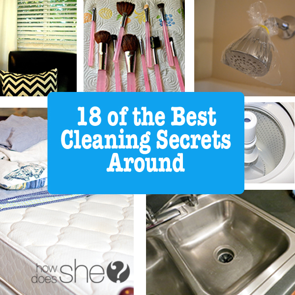 18 of the Best Cleaning Secrets Around