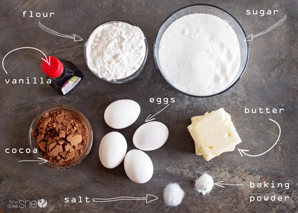 Ooey Gooey Marshmallow Mint Brownies
