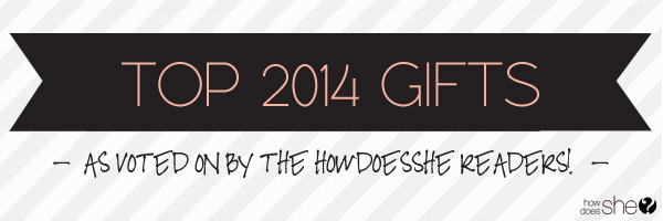 2014 Gift Guide Round Up – Reader Submitted TOP gifts!