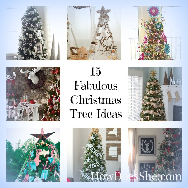 15 Non Traditional Christmas Tree Ideas: 15 Fabulous Christmas Tree Ideas