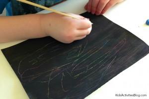 Crayon-scratch-activity