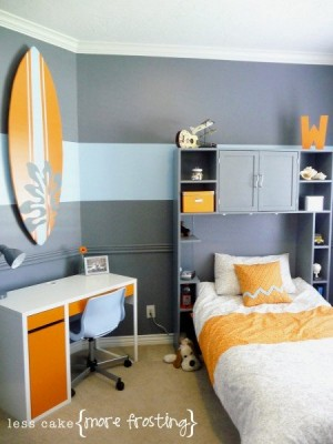 Gray-and-Yellow-Bedroom