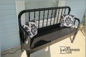 Baby Bed Bench Old Cribs