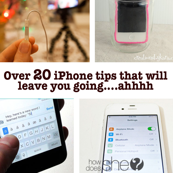 "Over 20 iPhone tips that will leave you going ""Ahhhhh"""