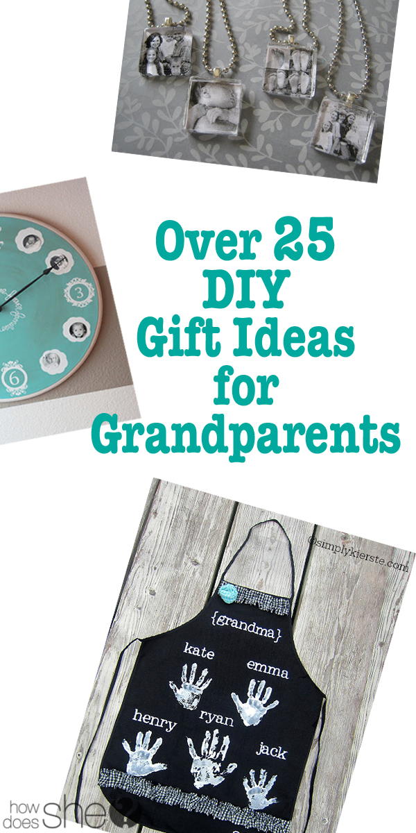 What to make for grandparents this year for Christmas presents is no longer the question! Here are the best gift ideas to make for your grandparents! These home made gifts are perfect for grandma and grandpa and include pictured tutorials for a family tree, photo coasters, photo ornament, tea towel art, magnets, photo album and handprint art.