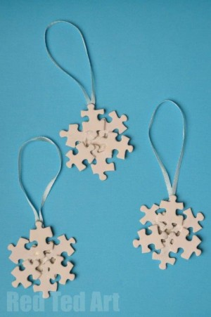 21 Christmas Ornaments Kids Can Make How Does She