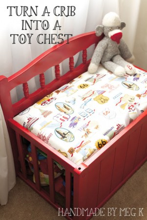 Repurpose your old Crib
