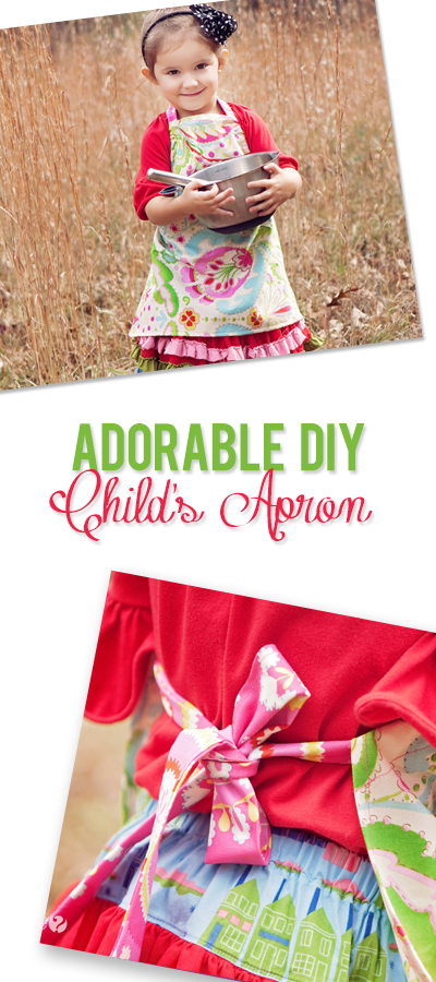 Adorable DIY Child's Apron