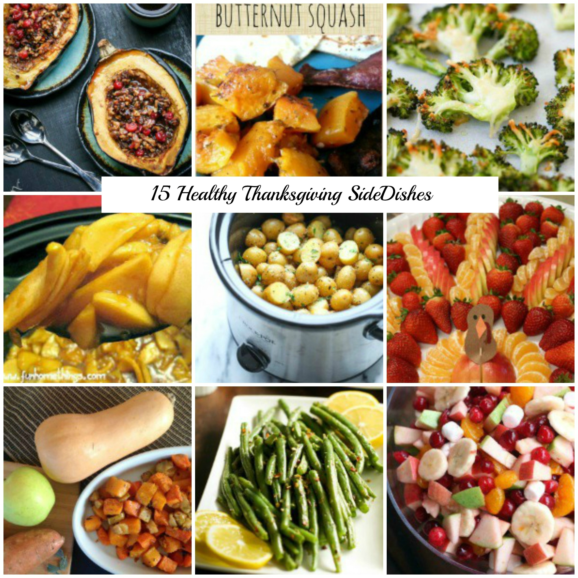 15 Healthy Thanksgiving Side Dish Recipes That Are Still